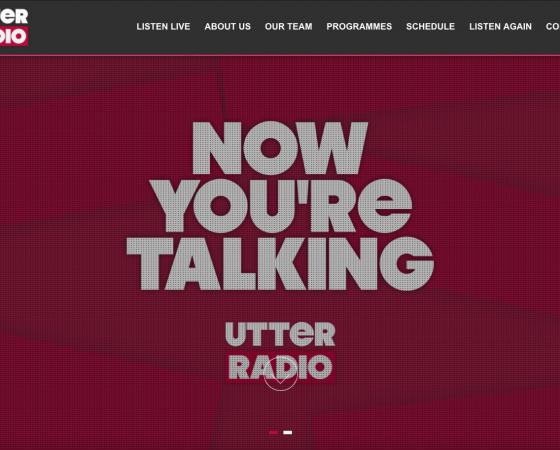 Utter Radio Website