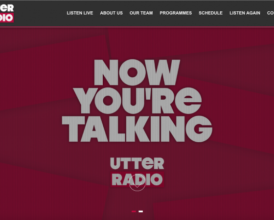 Utter Radio Website